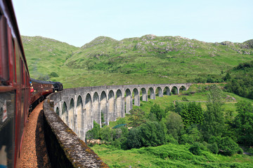 The Jacobite train.