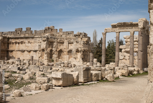 Old roman city, Baalbek, Lebanon