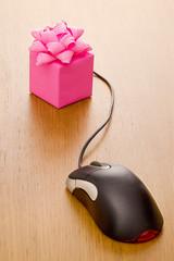 Internet shopping gift