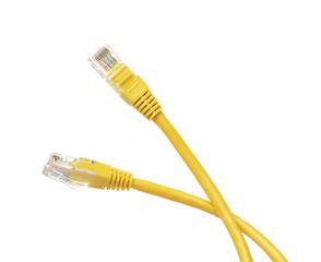 Cable de red, detalle de las puntas