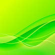 Green abstract background.