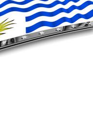Designelement Flagge Uruguay