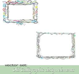 Calligraphic Design Elements 30