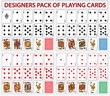Pack of poker casino cards - 56522056