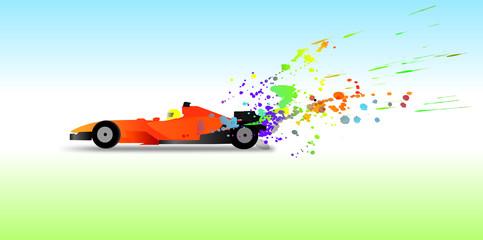 Formula 1 color