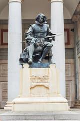 Statue of Velazquez in Madrid, Spain