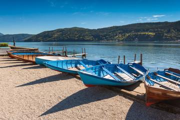 Boats in Millstatt am See, Austria