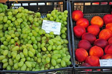 Frutta al mercato di Rovigno, Croazia