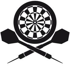 Darts Board Logo