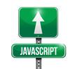 javascript road sign illustration