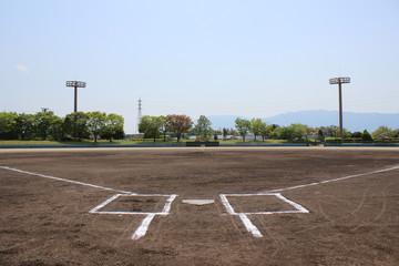軟式野球のグランド