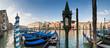 Grand Canal, Villas and Gondolas, Venice