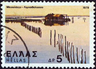 Lagoon of Missolonghi (Greece 1979)