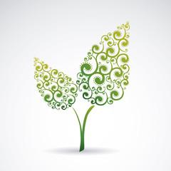 Decorative leaves