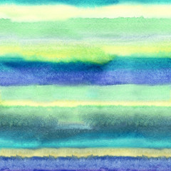 Watercolor Abstract Stripes