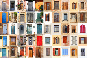 Mediterranean windows and doors