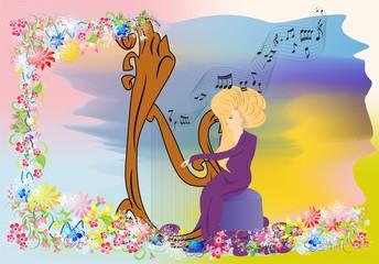 koncert na harfie