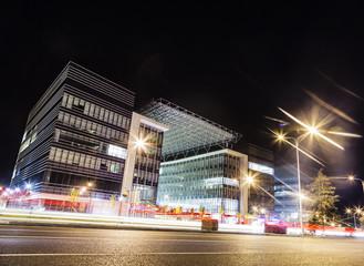 Night urban landscape