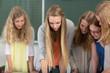 Gruppenarbeit im Gymnasium