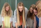 Gruppenarbeit im Gymnasium poster