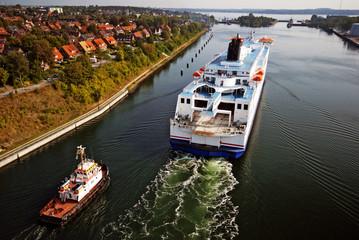 Kiel Canal cruise