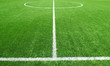 Soccer football field stadium grass line ball background