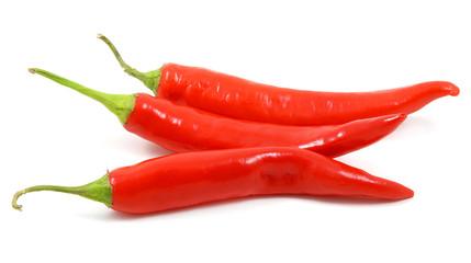 Tre peperoncini piccanti