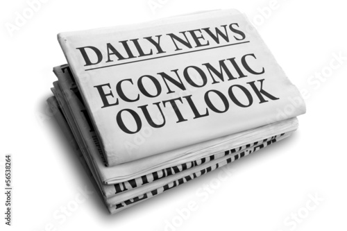 Economic outlook daily newspaper headline