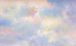 canvas print picture - himmel malerei leinwand