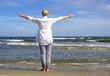 Woman at the Beach - Frau am Meer