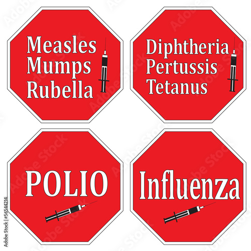 Stop infectious diseases through vaccination