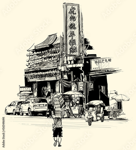 blick-auf-chinatown-in-bangkok