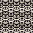 Retro antique seamless pattern in art deco style