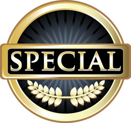 Special Award Vintage Label