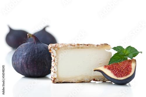 Feige und Käse