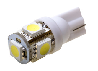 Led lamp for auto with 5 LEDs
