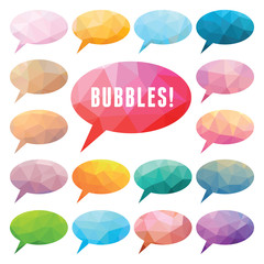 Bubbles Polygonal