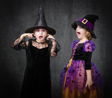 children witch scream and shout