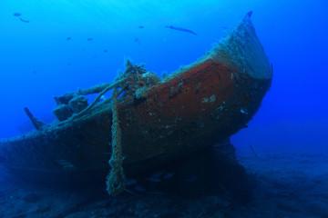 Schiffswrack vor Gran Canaria