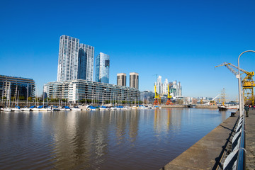 View of Puerto Madero