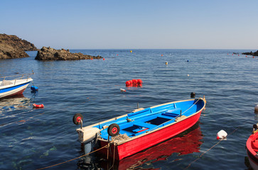 Boats in Pantelleria