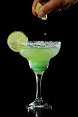 lime green margarita