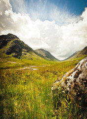 Glencoe in scotland