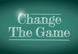 change the game message