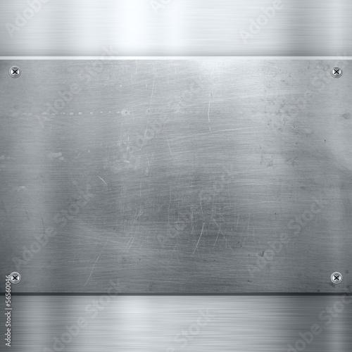 Alte Metall Platte