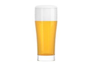 Bier Glas mit Tropfen
