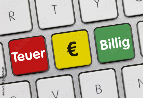 Euro teuer oder billig?