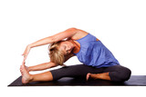 Yoga head to knee pose