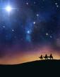 Leinwanddruck Bild - Three wise men