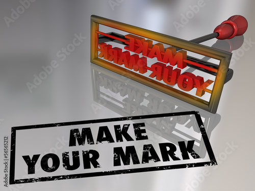 Make Your Mark Branding Iron Lasting Impression